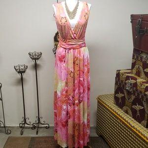 Jlo maxi dress. Size M